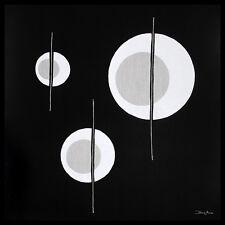 Diane Moore Triangle Circuit Poster Bild Kunstdruck im Alurahmen schwarz 70x70cm