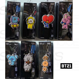 BTS-BT21-Official-Authentic-Goods-Monopoly-Travel-Wrist-Strap-Ver-2-7Characters