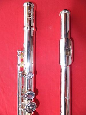 Vorsichtig Mateki Mo-031 Vollsilber Rumpf Querflöte Solid Silver Body Flute Flauta Flauto SorgfäLtig AusgewäHlte Materialien Musikinstrumente