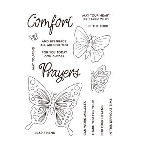 Butterfly Metal Cutting Dies and Clear Stamps for Scrapbooking