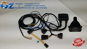 Holden colorado rg 062012 current tow bar trailer wiring harness image is loading holden colorado rg 06 2012 current tow bar swarovskicordoba Image collections