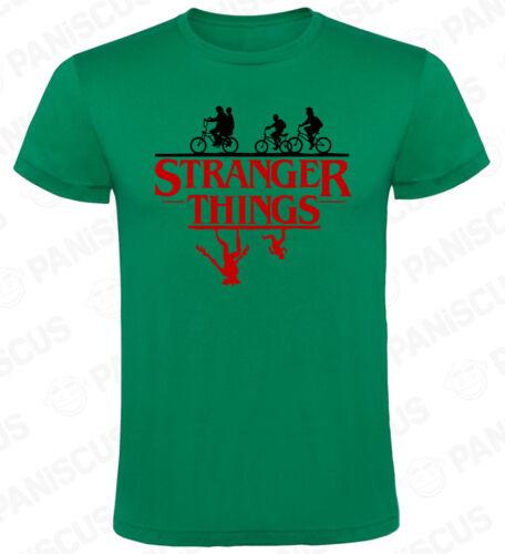 Camiseta hombre Stranger Things Logo Upside Down tallas y colores