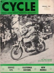Cycle-World-039-s-Largest-Monthly-Motorcycle-Circulation-February-1958-Magazine