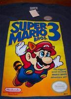 Super Mario Bros. 3 Nes Nintendo T-shirt Large W/ Tag