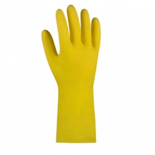 Gelbe Haushaltshandschuhe aus Naturlatex 1.0 teXXor 2220 Reinigungshandschuhe