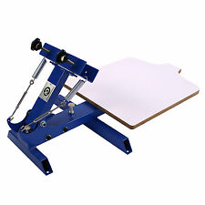 Simple Single 1 Color 1 Station T-shirt Silk Screen Printing Machine NS101
