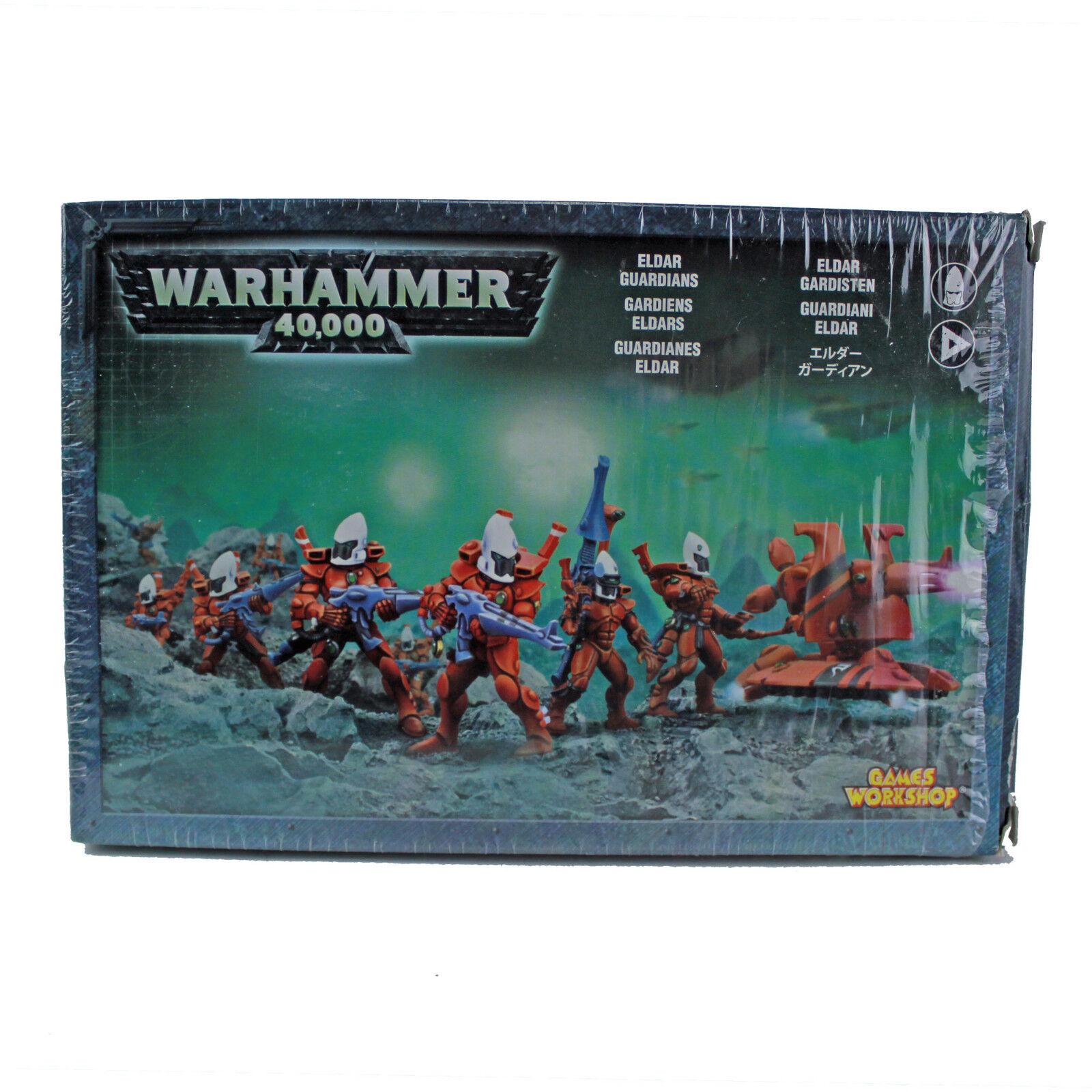 Warhammer 40.000eldar wächterx + 1 hwpnie gemalt.40offener kasten