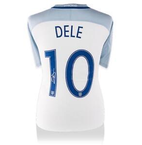 480c034d7 Dele Alli Back Signed England 2016 Home Shirt  Number 10 Edition ...