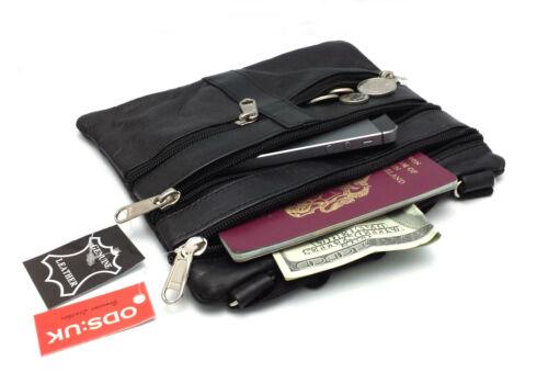 Womens Ladies Real Leather Tote Cross Body Messenger Shoulder Travel Satchel Bag