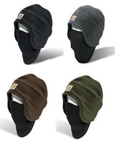 Carhartt-Authentic-Men-039-s-Beanie-Facemask-or-Fleece-2-In-1-Headwear-A202