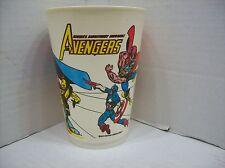 MARVEL COMICS THE AVENGERS 7-11 SLURPEE PLASTIC CUP 1977 VINTAGE