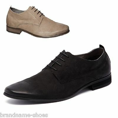 NEW JULIUS MARLOW KNICK MENS LEATHER LACE UP SHOES
