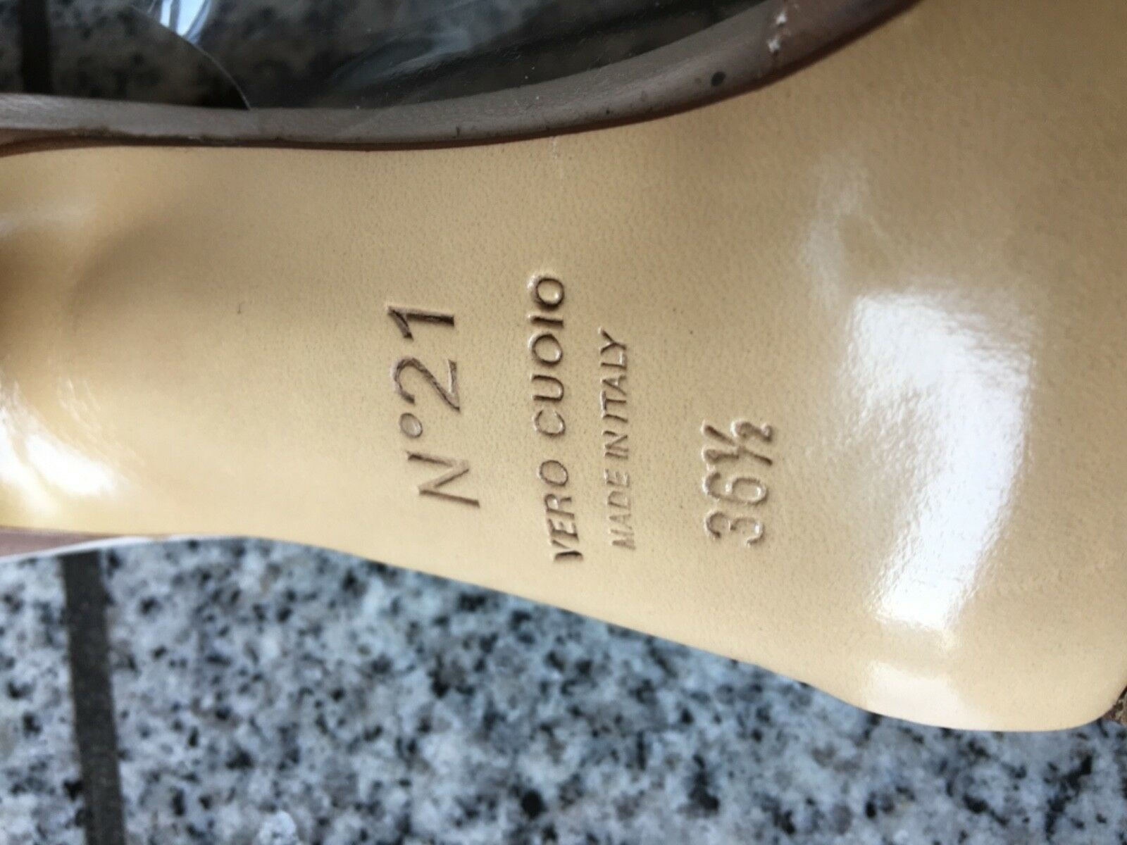 N°21 Gr. Alessandro Dell'Acqua Luxus Schuhe Gr. N°21 36,5 3040b5