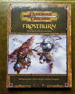 Frostburn - Dungeons & Dragons Rpg 3.5 Jeu de rôle Dnd D & d Jeu de rôle 3rd Oop Osr