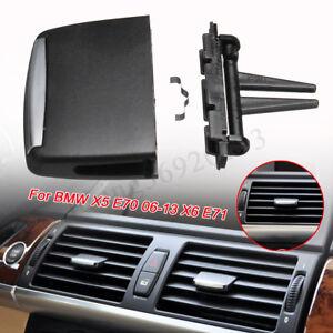 Noir-a-c-Air-Vent-sortie-onglet-Clip-Kit-de-reparation-pour-BMW-X-5-E70-2006-201