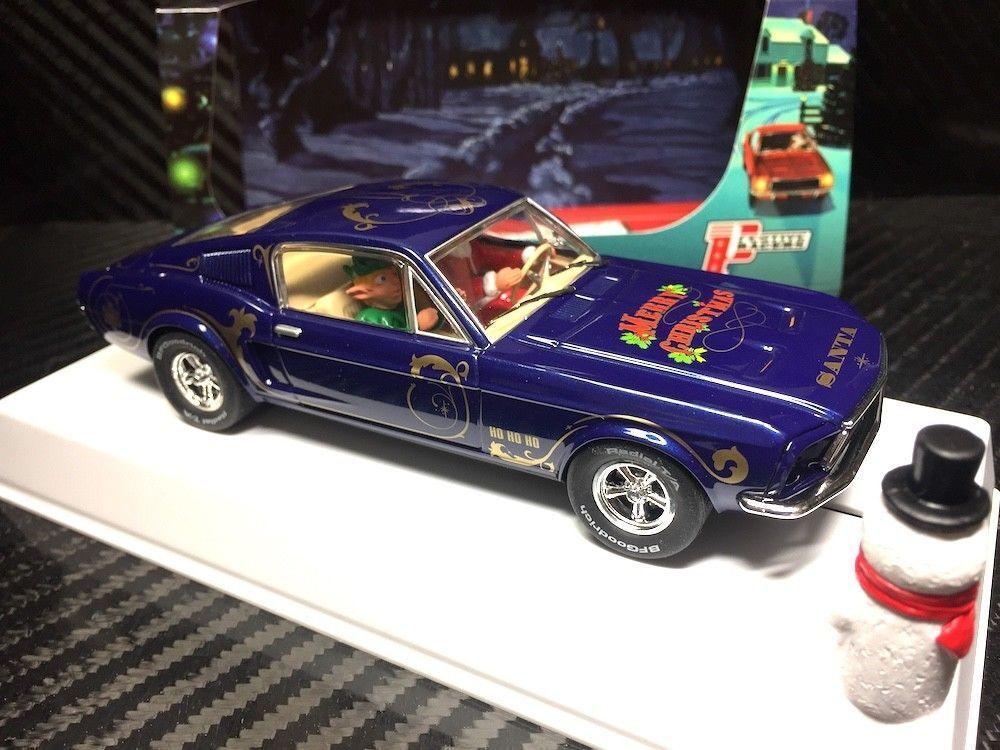 P072 Pioneer Mustang 390 GT Santa's 'Stang 2018 Tinsel bluee metallic LE of 220