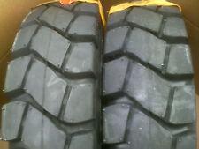 2) Tires 5.00-8 Samson Forklift Tire 10 PLY 5.00x8 500-8 500x8 5008 Lift truck
