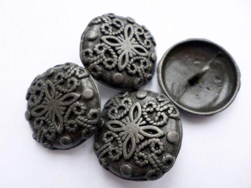 Elegancia Clásica Estilo Antiguo Diseño De Metal Patrón Tallado Botones de costura manualidades