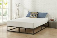 Platform Bed Frame Full King Queen Twin Size Steel Metal Matress Foundation 10