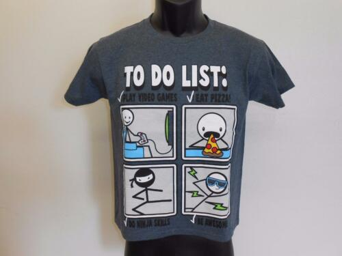"NEW Funny Graphic Tee /""TO DO LIST/"" Youth Sizes XS-S-M-L-XL Shirt"