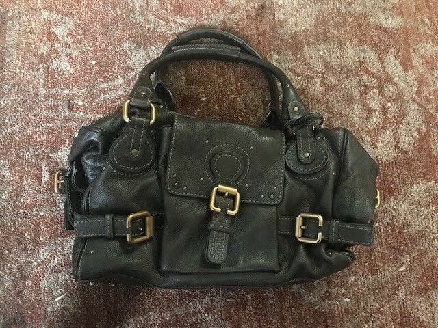 2ea260da13a Buy Authentic Chloe Paddington Lock Leather Handbag online | eBay