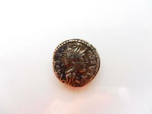 Antike-Munze-w-romischer-Silber-Denar-original