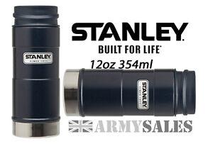Stanley-Classic-Blue-One-Handed-5-Hrs-Hot-Leak-Proof-Mug-Drinks-Flask-12oz-354ml