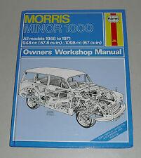 Reparaturanleitung Morris Minor 1000 + Traveller, Baujahre 1956 - 1971
