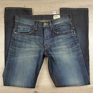 G-Star-Raw-Men-039-s-Jeans-3301-Straight-Size-30-32-NWOT-RRP-289-B8