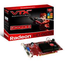 VTX HD 6670 2GB DDR3 AMD tarjeta de gráficos DVI-I HDMI VGA PCI-E 2.1