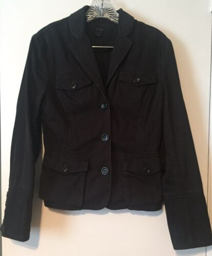 Blazer Black Størrelse Small Cotton Jacket Express Women's wUHZ6T