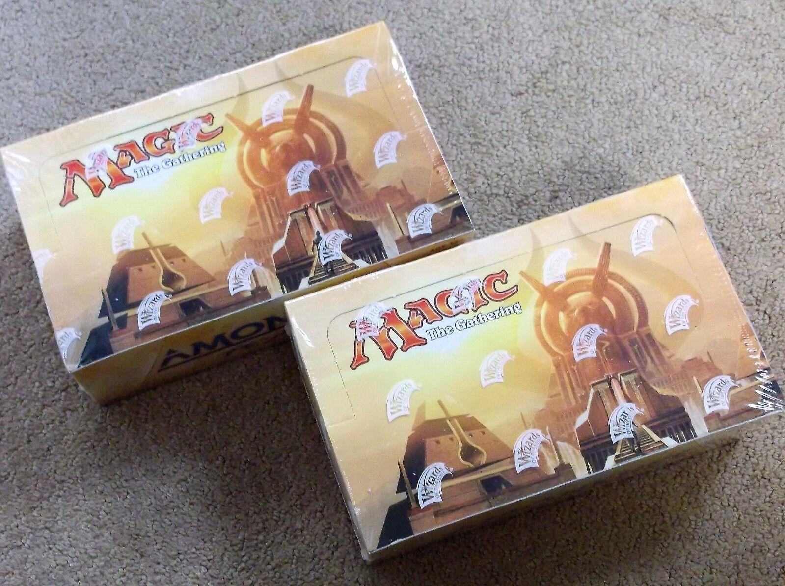 Magic the gathering amonkhet deutschen booster 2 box viel freie priority shipping