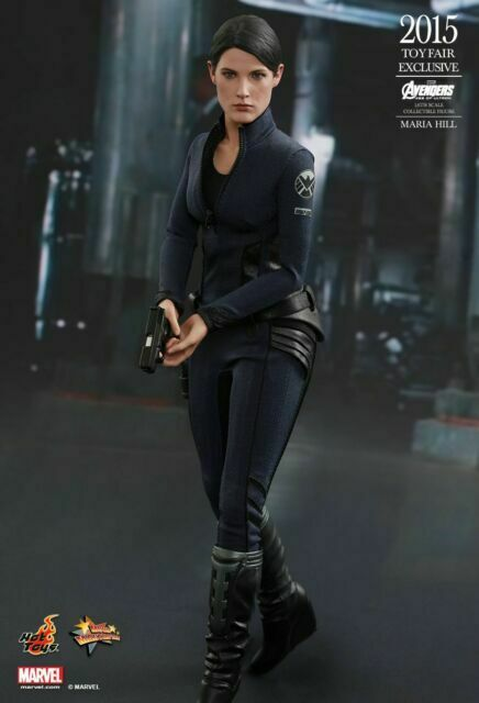 Maria Hill 1 6 Hot Toys Avengers 2 Age Of Ultron Mms305 2015 Toyfair For Sale Online Ebay
