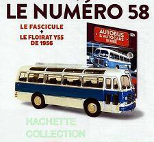 1/43 IXO - AUTOCAR / AUTOBUS / RARE FLOIRAT TYPE Y55 - 1956 - FRANCE