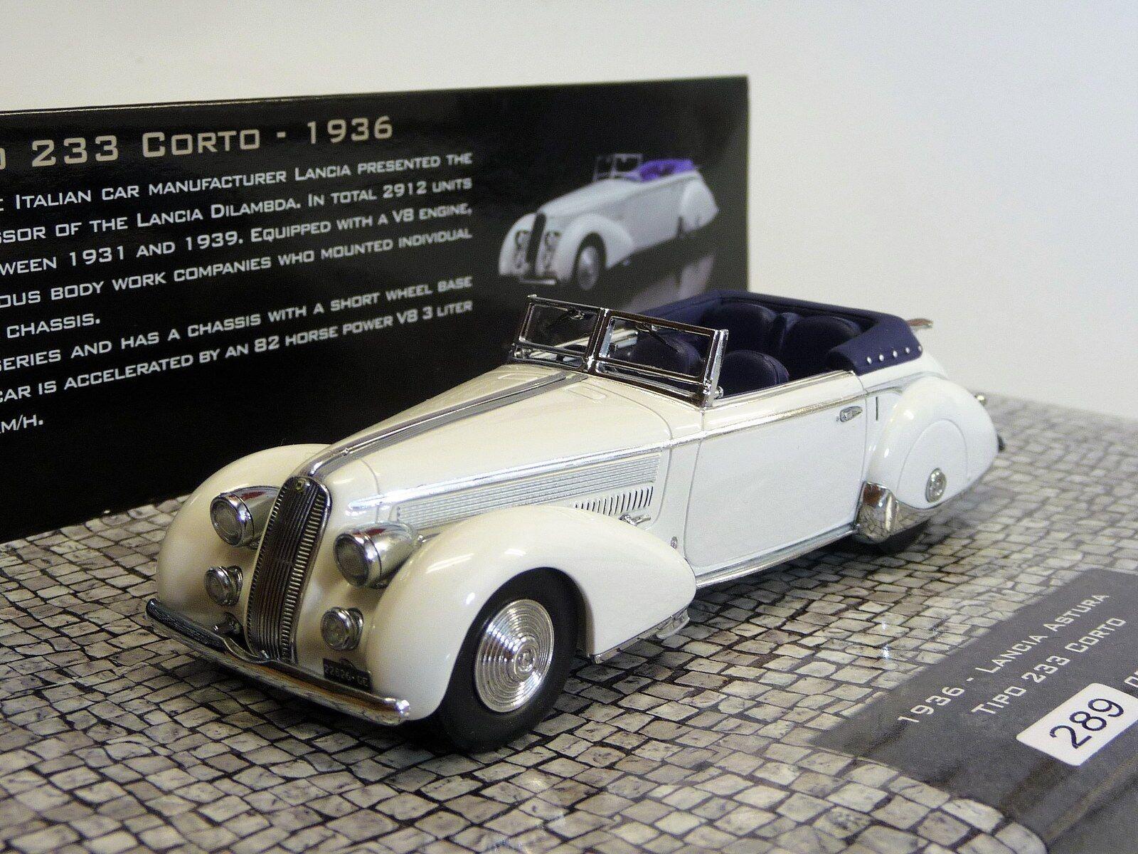 Lancia Astura typo 233 corto 1936 Minichamps 437125330 en OVP 1 43