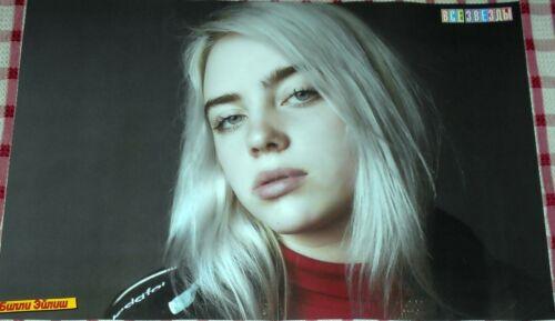Magazine Poster Billie Eilish Halsey A3