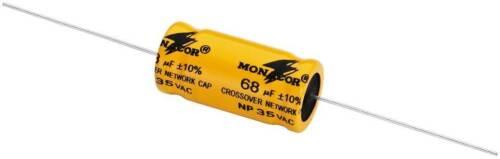 1 Monacor Lsc Piece Bipolar Electrolytic Capacitors 1,0 Μf To 220 Μf