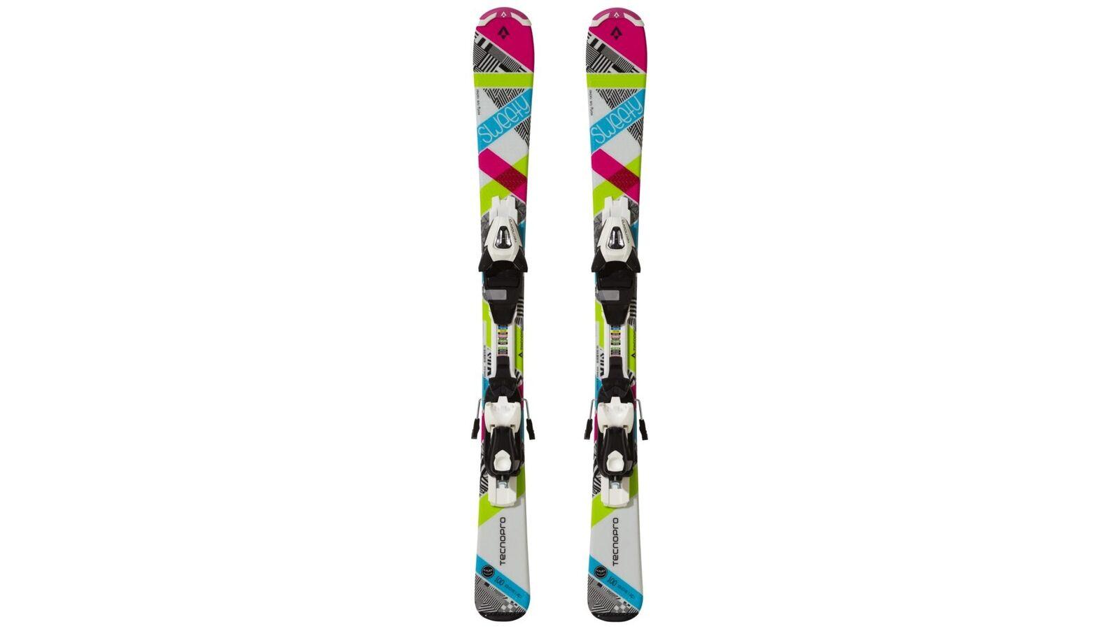 TecnoPro Alpine Alpine TecnoPro Kinderski Ski-Set Sweety E. inkl Bindung 3c1160