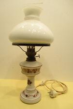 Petroleumlampe / Tischlampe / Kosmus Brenner / Glaszylinder / Lampe / Petroleum