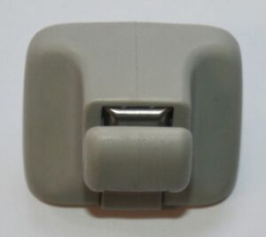 Vw-golf-MK5-sun-visor-clip-gris-clair-1K0-857-561-b