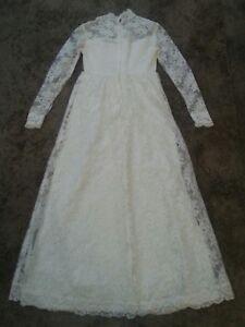 Vintage Lace Wedding Dress*Women's Size 8*GVC
