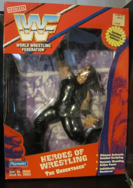 (NEW) 1997  Playmates WWF Heroes of Wrestling  (the Undertaker )