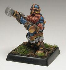 Dwarf Kneebreaker Reaper Miniatures Warlord Fighter Paladin Dwarves Melee Hammer