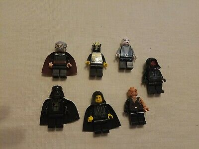 LEGO Star Wars Darth Vader Maul Dooku Ventress 6x Sith Red Lightsaber Lot