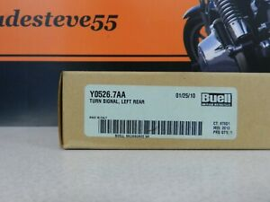 Harley-Davidson-Buell-NOS-Left-Rear-Turn-Signal-PN-Y0526-7AA
