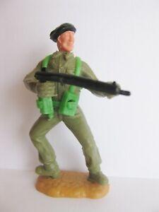 TIMPO-TOYS-BLACK-BERET-BERET-NOIR-WW2-WWII-ARMY-SOLDIER-WW-2-WW-II-C