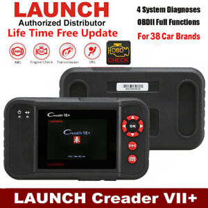 Creader VII+ Launch Escaner de Diagnosis OBD2 OBDII CAN Multimarca diagnostic