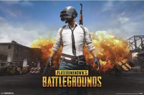 22x34 VIDEO GAME POSTER PLAYER UNKNOWN/'S BATTLEGROUNDS PUBG 17136