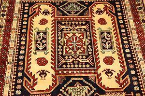 Image Is Loading 1930s Antique Caucasian Kazak Lankoran Design Fine