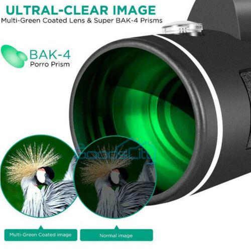 8000M 40X60mm Super Telephoto Zoom Monocular Telescope Binocular Night Vision